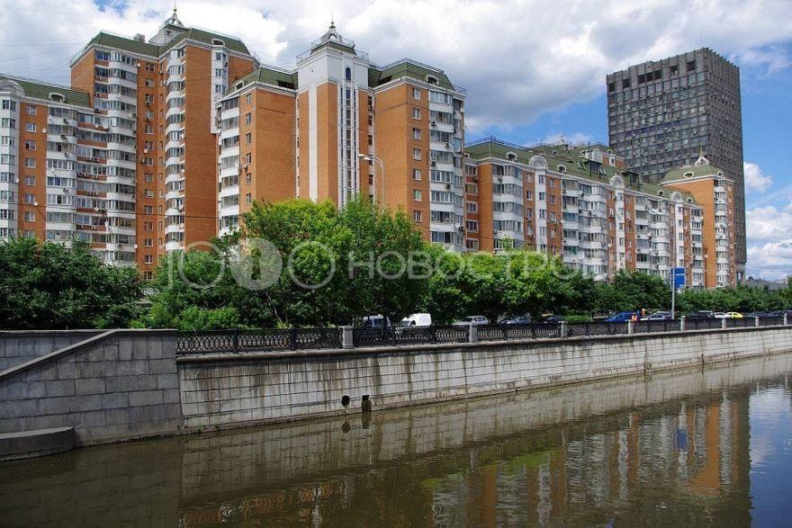 Смотреть красивое фото Набережная города Рубцовск в хорошем качестве