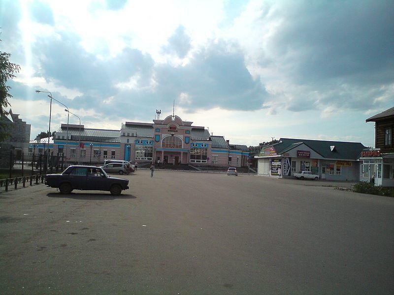 Железнодорожный вокзал город Рубцовск