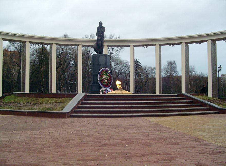 Смотреть красивое фото Мемориал в городе Пушкино