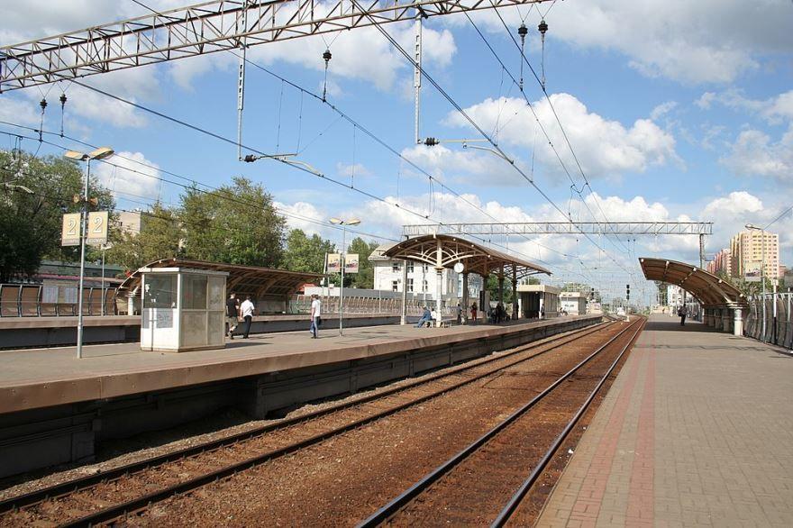 Железнодорожный вокзал город Реутов 2018