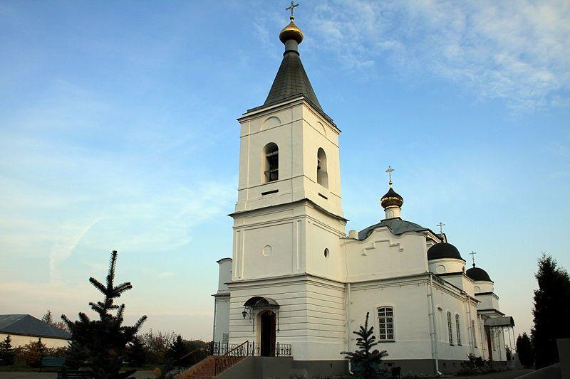 Спасо-Преображенский женский собор город Рославль