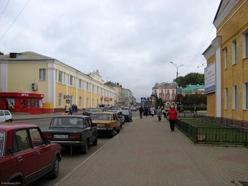 Смотреть красивое фото улица города Рославль в хорошем качестве