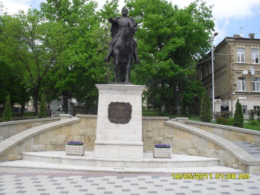 Памятник А.П. Ермолову город Пятигорск