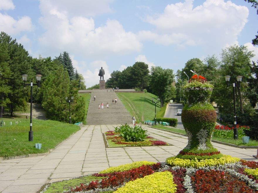Памятник В.И. Ленину город Пятигорск