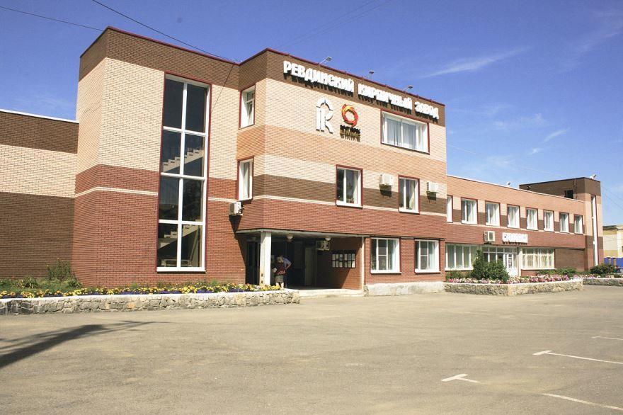Здание кирпичного завода город Ревда