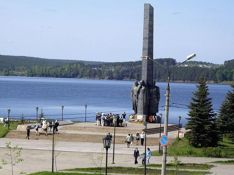 Монумент Трудовой и Боевой Славы город Реж