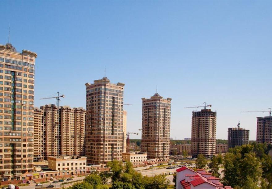 Смотреть красивое фото Новостройки города Раменское