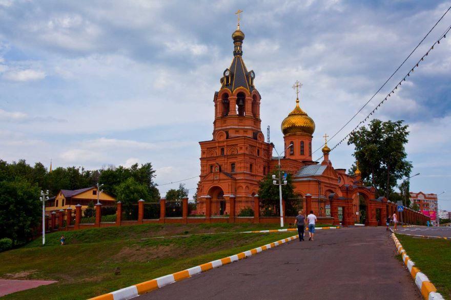 Собор Троицы Живоначальной город Раменское
