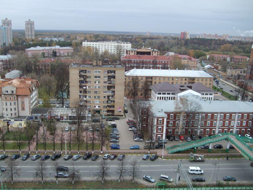 Скачать онлайн бесплатно лучшее фото вид сверху города Раменска в хорошем качестве