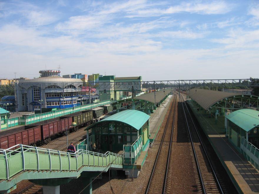 Железнодорожный вокзал город Раменское 2019