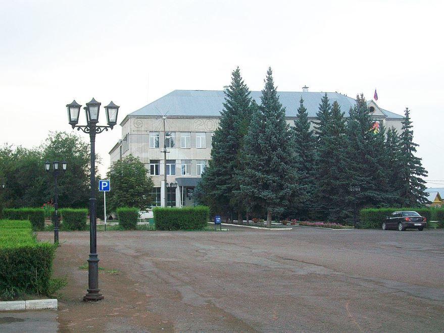 Здание администрации города Сорочинск