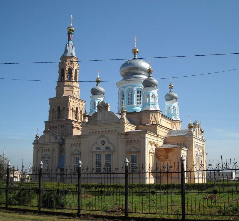 Церковь Михаила Архангела город Сорочинск