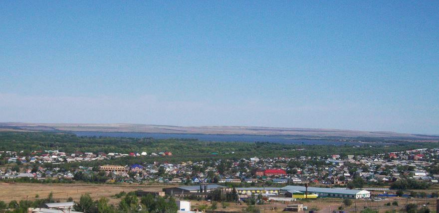 Смотреть красивое фото вид города Сорочинск в хорошем качестве