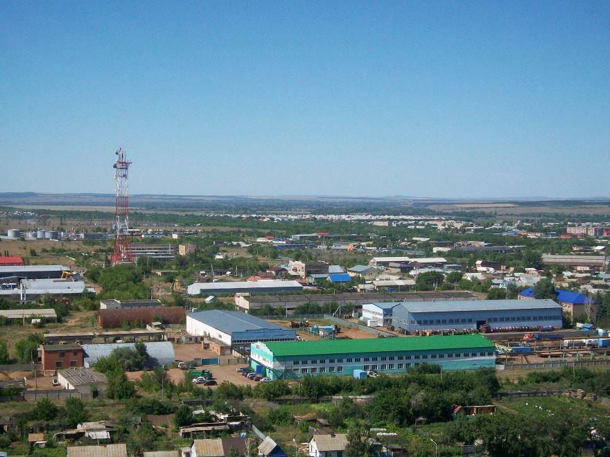 Скачать онлайн бесплатно лучшее фото вид на город Сорочинск в хорошем качестве