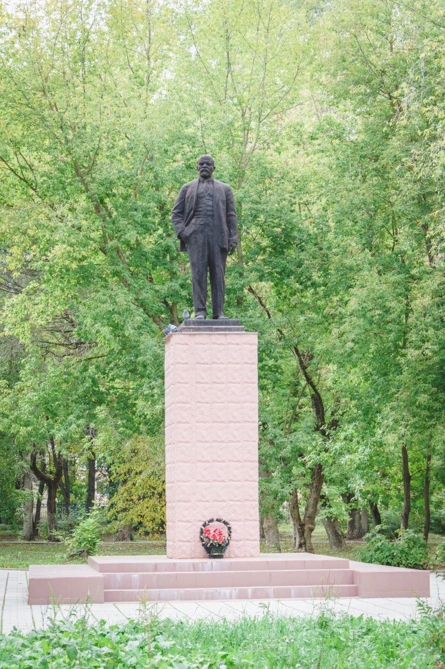 Памятник В.И. Ленину город Сафоново