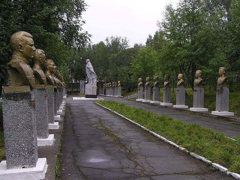 Аллея Героев город Сафоново