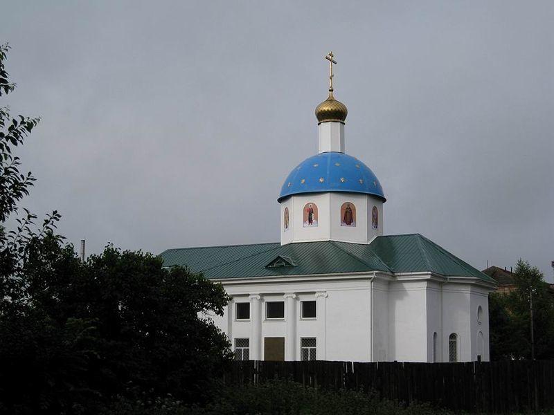 Храм Рождества Христова город Сафоново