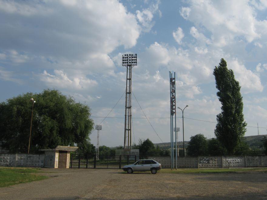 Городской стадион город Светлоград