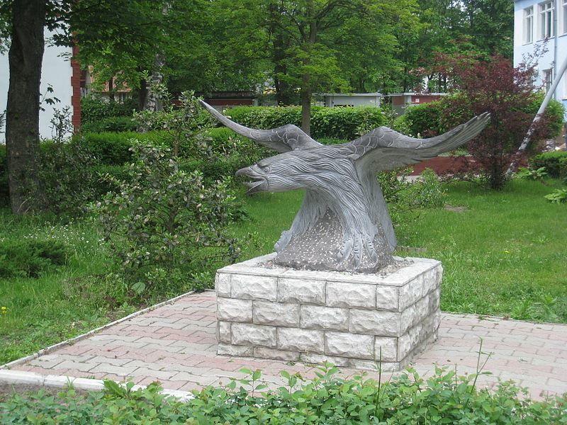 Памятник орел город Светлогорск