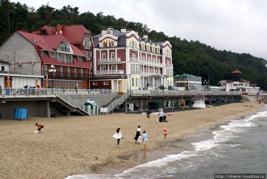 Смотреть красивое фото пляж города Светлогорск