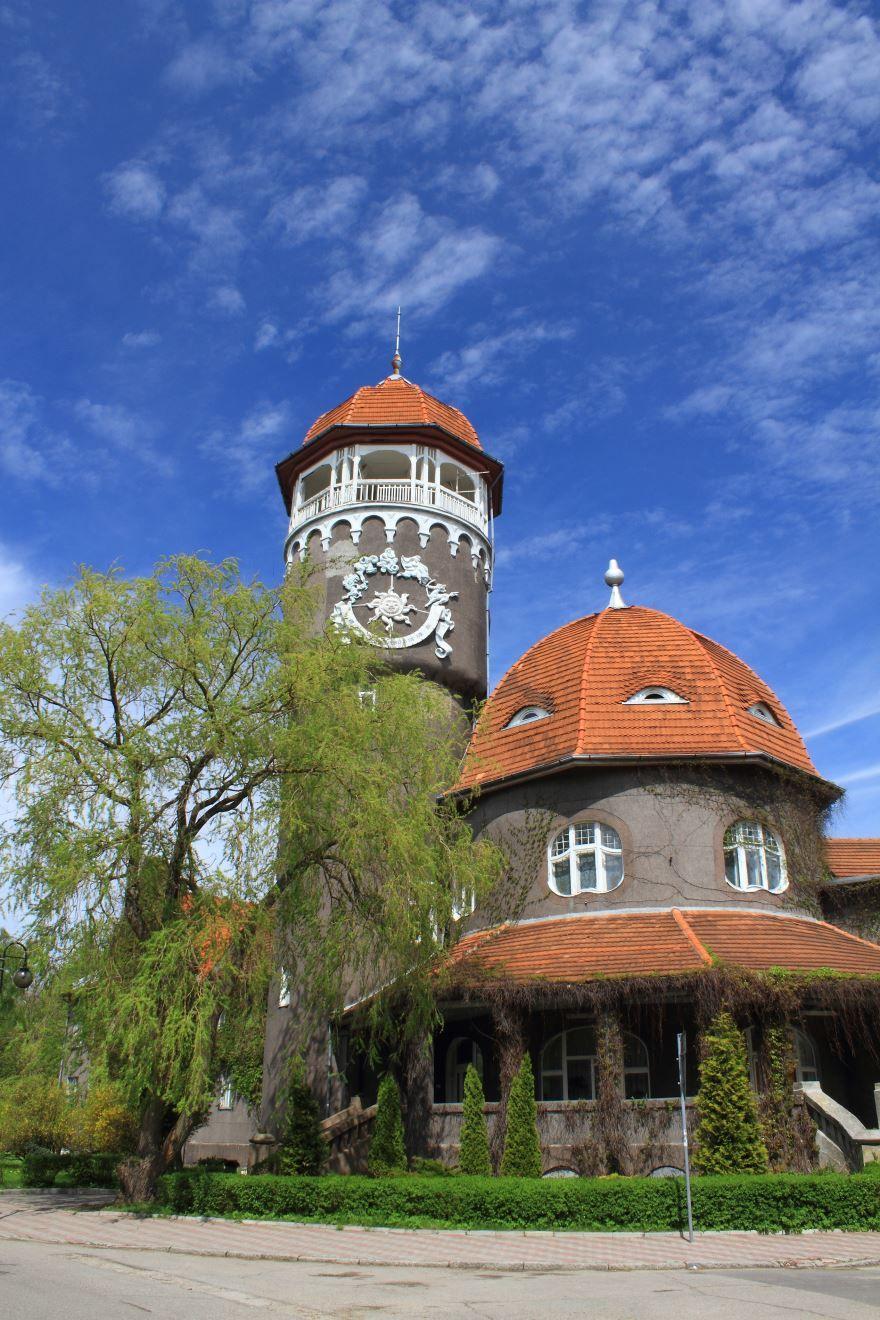 Водонапорная башня город Светлогорск
