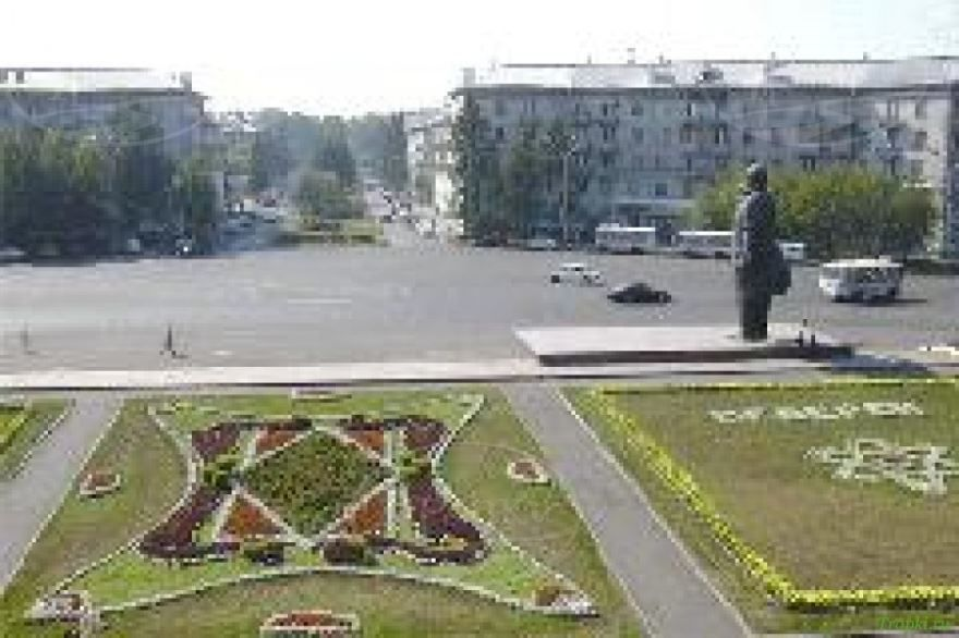 Площадь города Северск