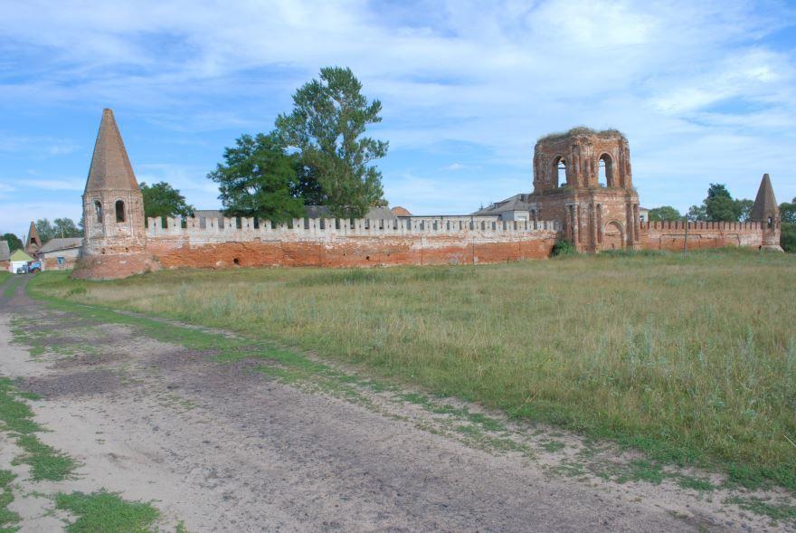 Спасо-Преображенский монастырь город Севск