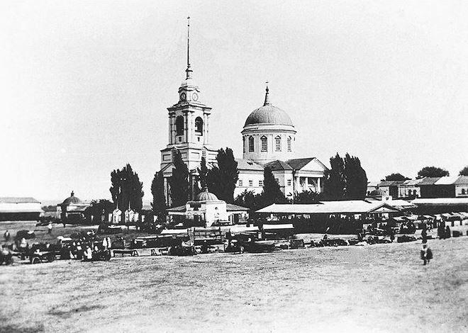 Смотреть лучшее старинное фото города Севск в хорошем качестве