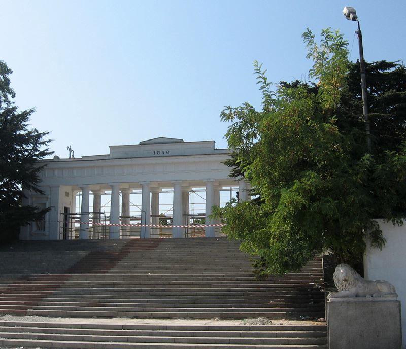 Графская пристань город Севастополь