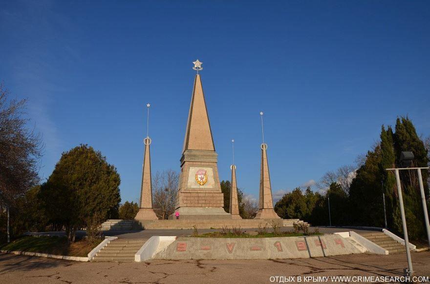Памятник воинам второй гвардейской армии город Севастополь
