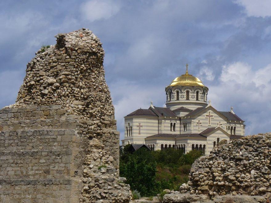 Собор Святого Владимира город Севастополь