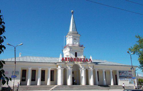 Автовокзал город Североуральск
