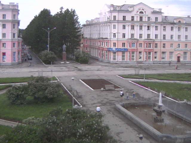 Площадь мира город Североуральск