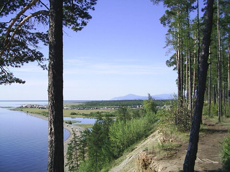 Смотреть красивое фото природа около города Северобайкальска в хорошем качестве