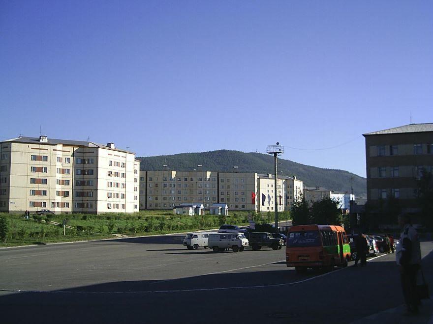 Привокзальная площадь город Северобайкальск