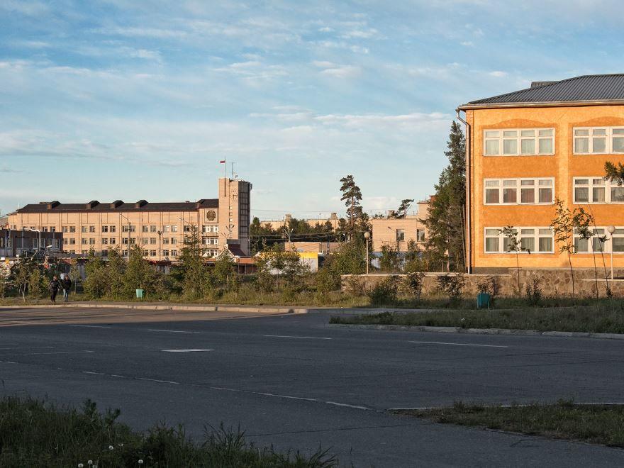 Смотреть лучшее фото города Северобайкальск