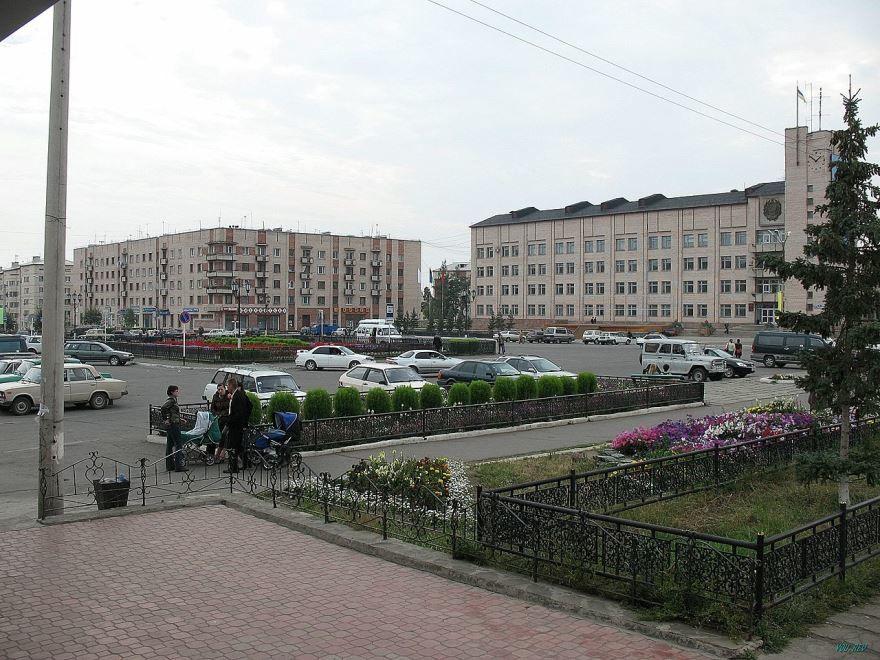 Здание администрации города Северобайкальск