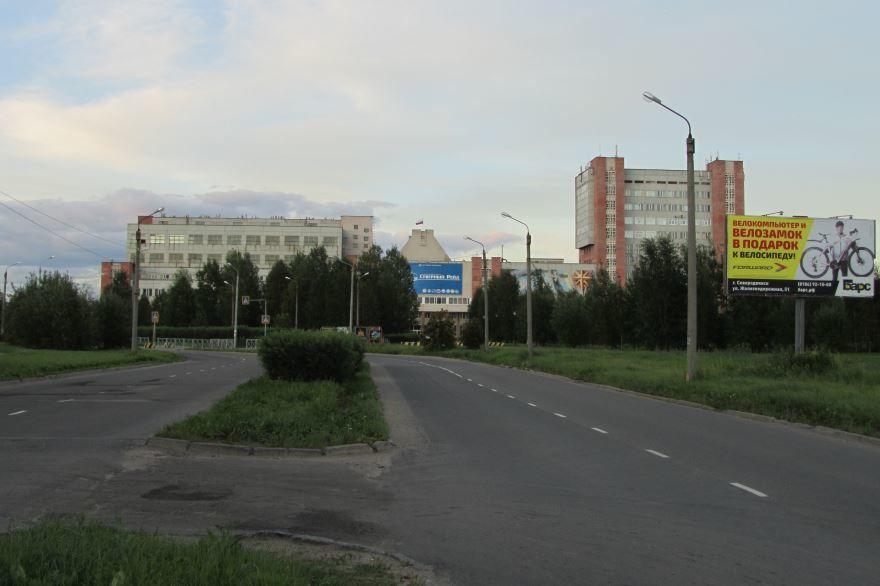 Смотреть красивое фото Проспект Победы город Северодвинск