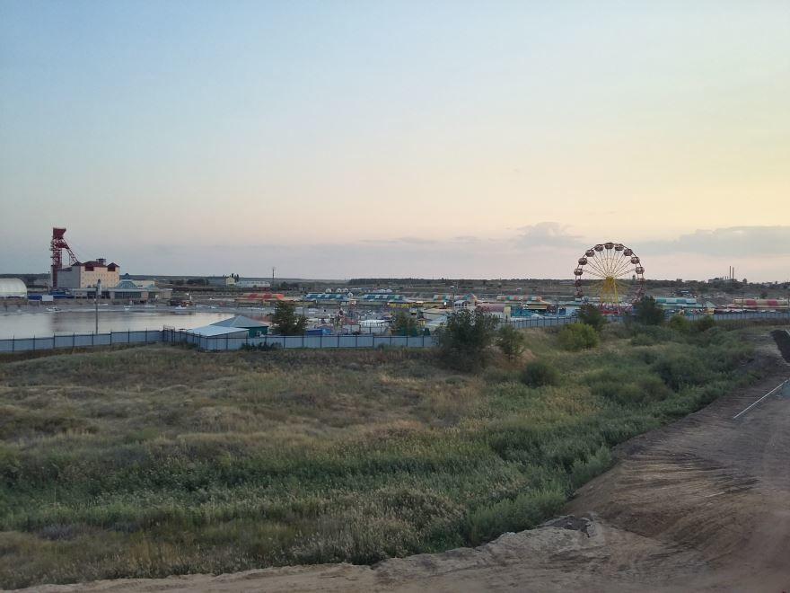 Скачать онлайн бесплатно лучшее фото вид на город курорт Соль Илецк в хорошем качестве