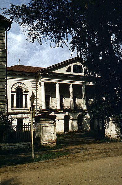 Дом Пьянковых город Сольвычегодск