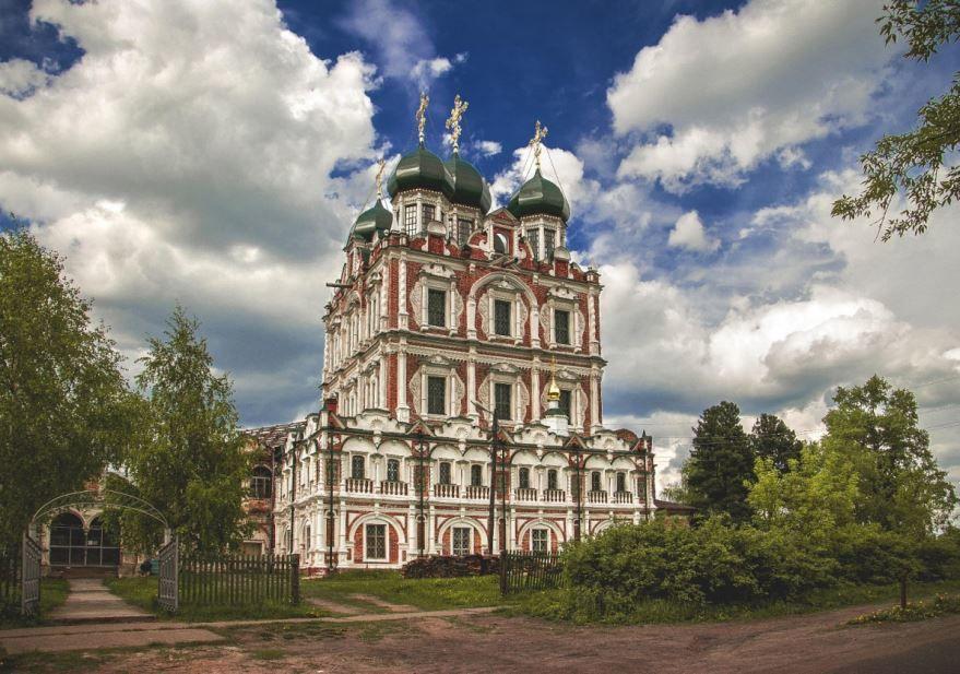 Свето-Введенский собор город Сольвычегодск