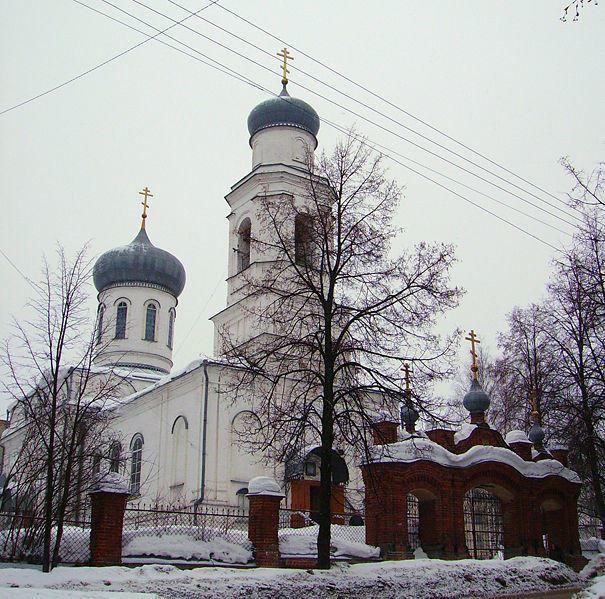 Церковь Всех Святых город Семенов