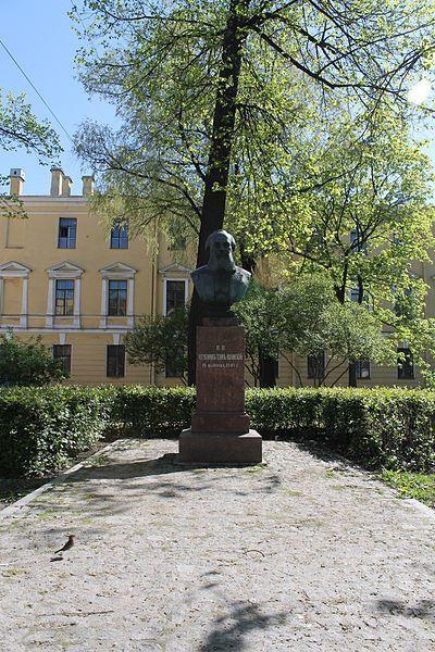 Памятник П.П. Семенову-Тян-Шанскому город Семенов