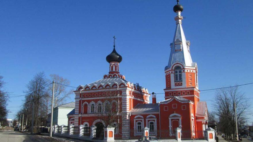 Старообрядческая церковь город Семенов