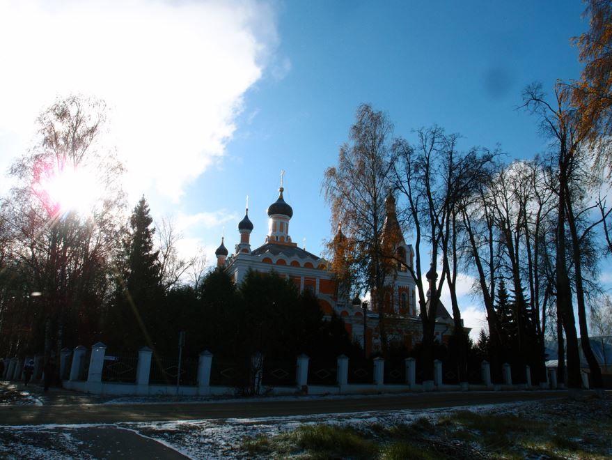 Церковь Николая Чудотворца город Солнечногорск