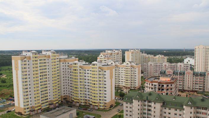 Скачать онлайн бесплатно лучшее фото вид  города Солнечногорска в хорошем качестве