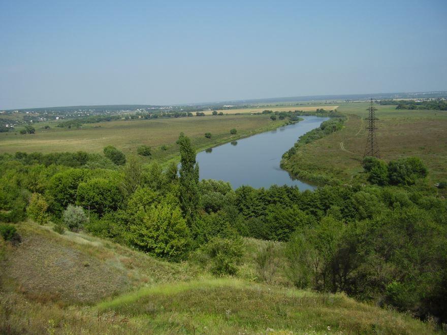 Река Дон у города Семилуки