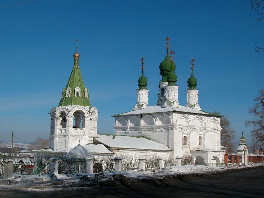 Преображенская церковь город Соликамск
