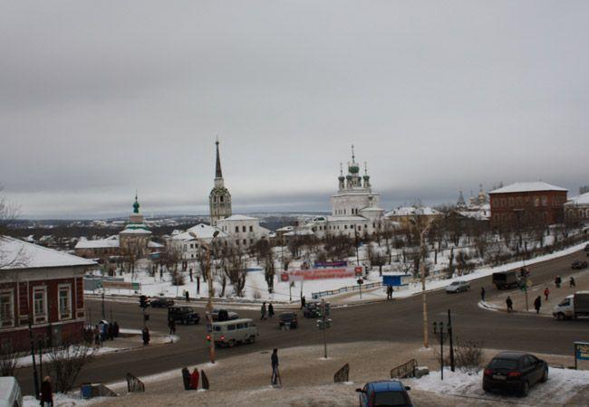 Смотреть красивое фото вид на город Соликамск в хорошем качестве