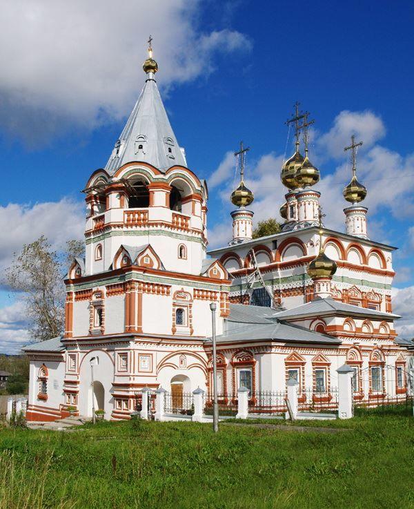 Богоявленская церковь город Соликамск